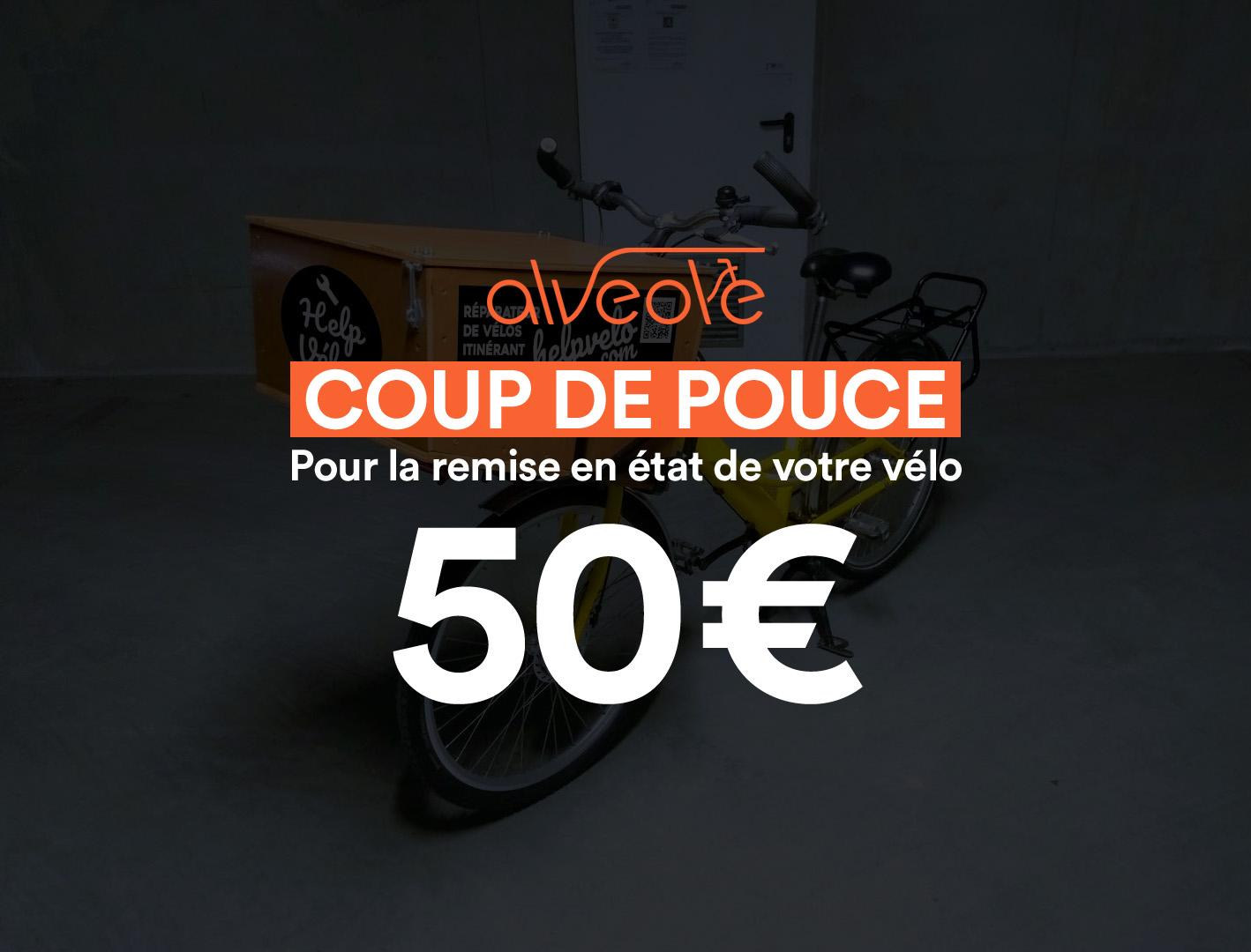Prime 50€ Coup de Pouce Vélo