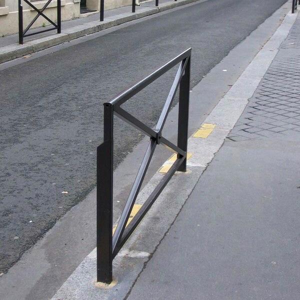 Barrière rue vélo