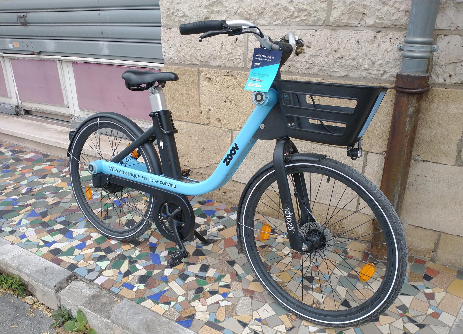 Zoov, location vélo Bordeaux