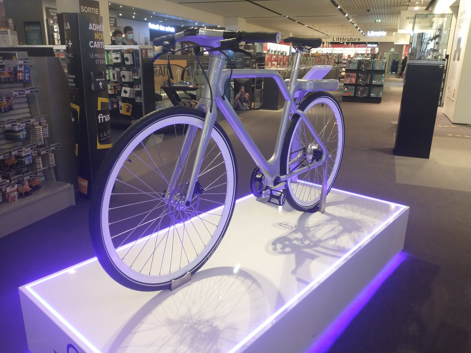 Angell Bike Fnac Bordeaux