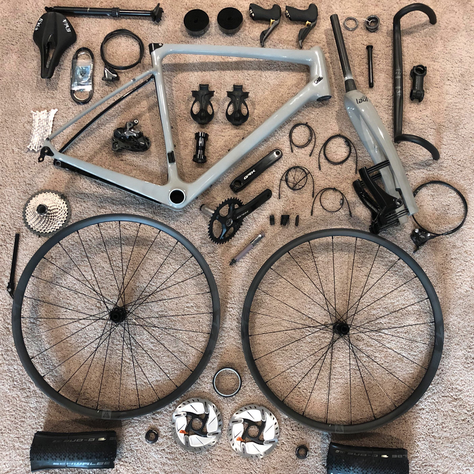 Montage complet d'un vélo