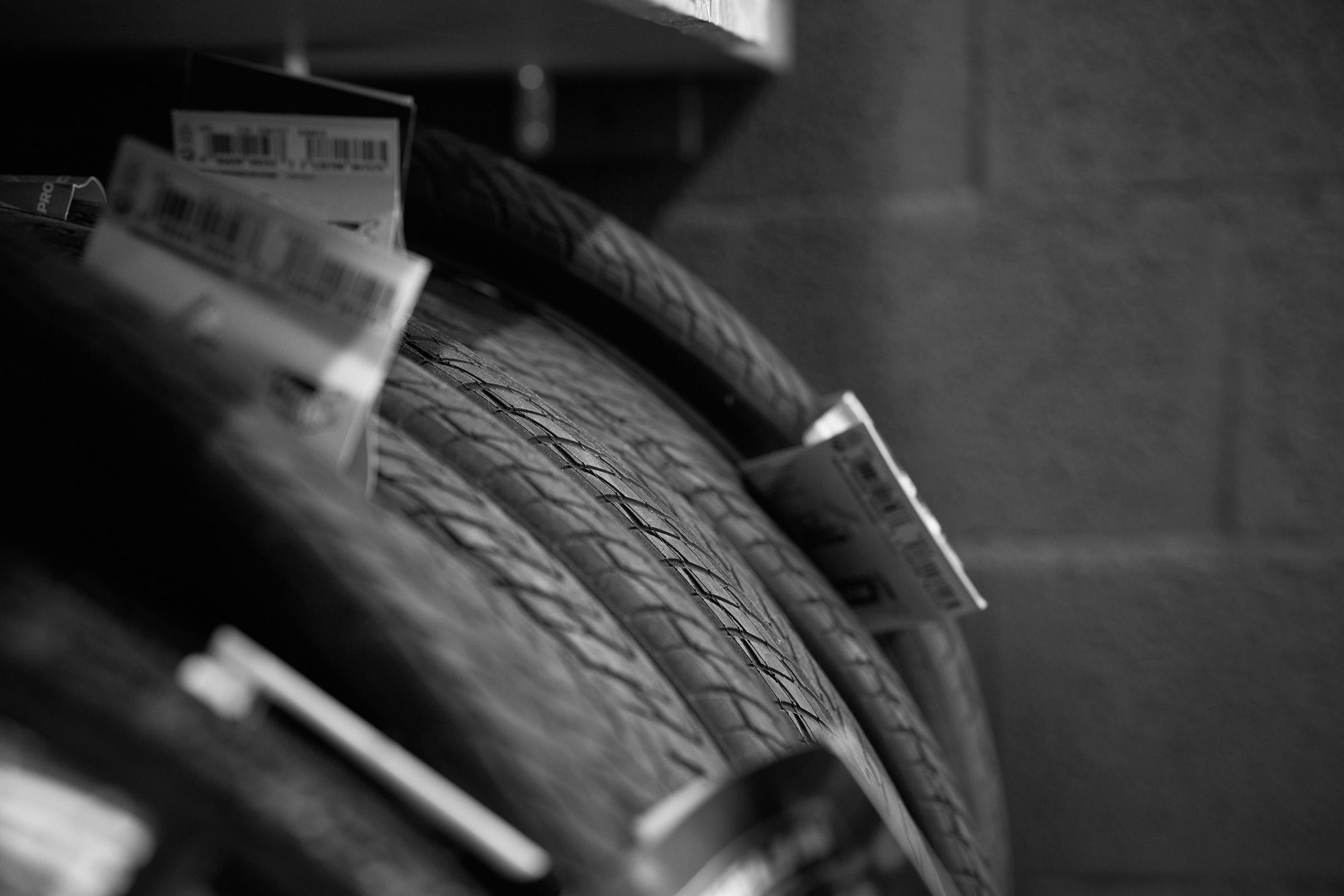Changement d'un pneu